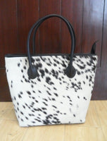 Cowhide Fur Bag