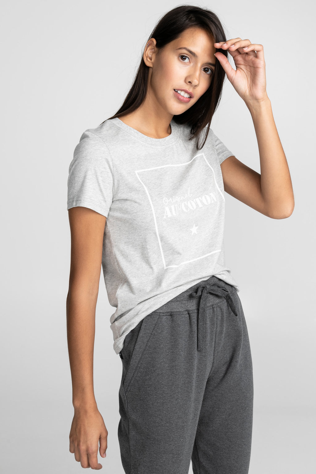 T-shirt Rectangle - Original Au Coton