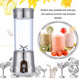 Stylish Portable Electric and USB Blender