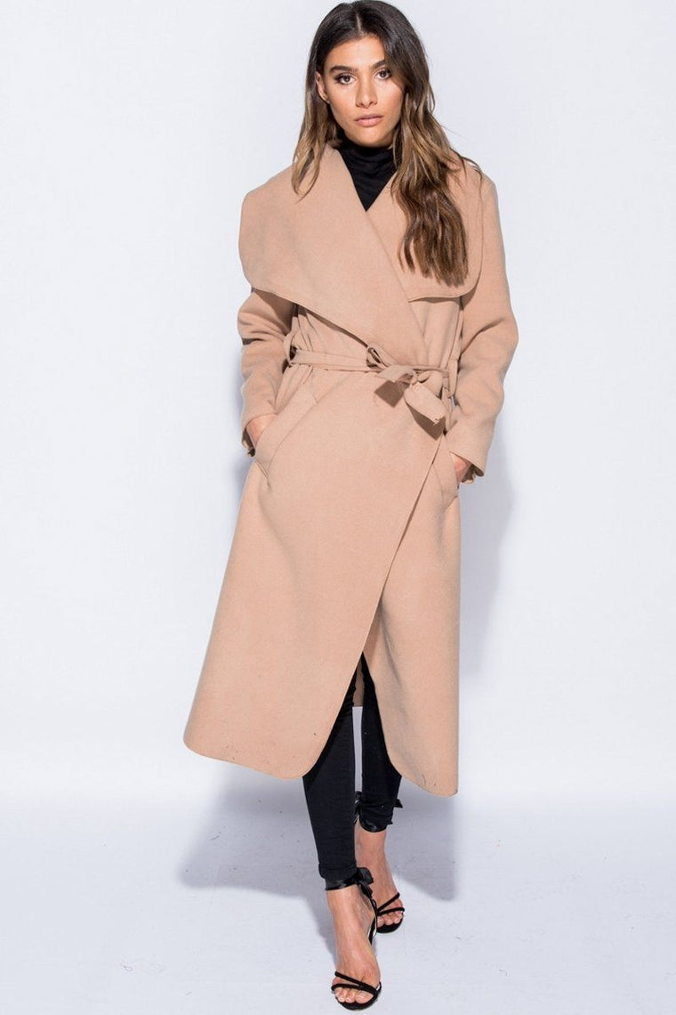 Kimmy Camel Duster Coat