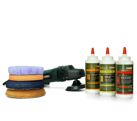 Vortex Rotary Polisher Paint Correction Kit