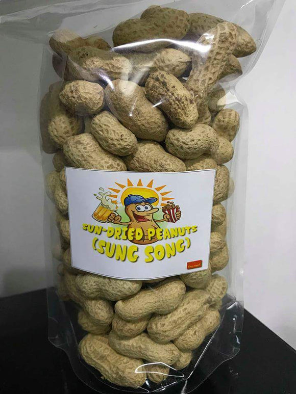 SungSong Dried Peanuts Big Pouch