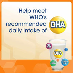 Help meet WHO's recommended daily intake of DHA