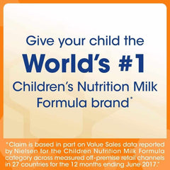 Give your child the World's #1 Children's Nutrition Formula brand
