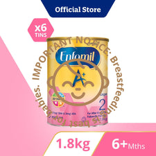 Enfamil A+ Stage 2 (1.8kg) Bundle of 6