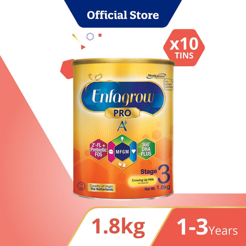 Enfagrow A+ Stage 3 Original Flavour 1.8Kg Bundle of 10