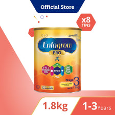Enfagrow A+ Stage 3 Original Flavour 1.8Kg Bundle of 8