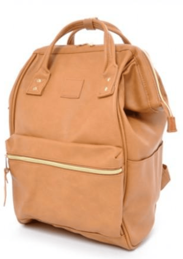 Anello Classic Leather Backpack