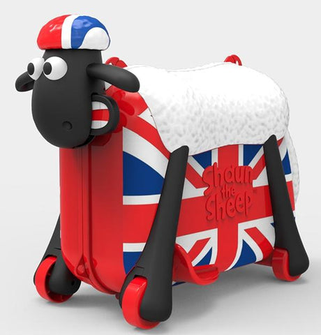 Shaun the Sheep Suitcase: British Design