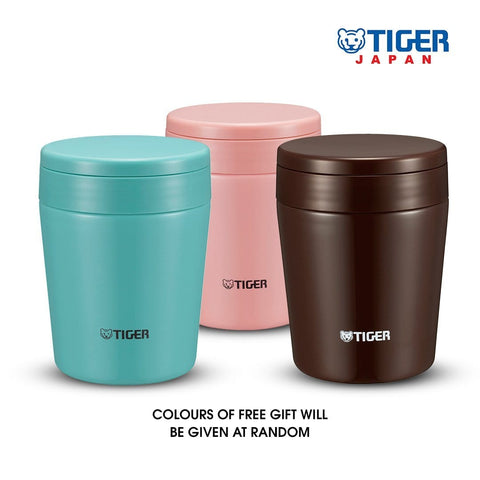 Tiger 300ml Double Stainless Steel Vacuumised Food Jar