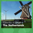 Made in The Netherlands - a picture of a windmill