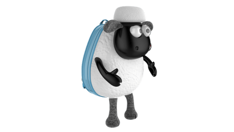 Shaun the Sheep Monchi Backpack - Blue
