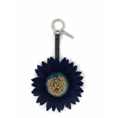 Fendi Daisy Bag Charm fur