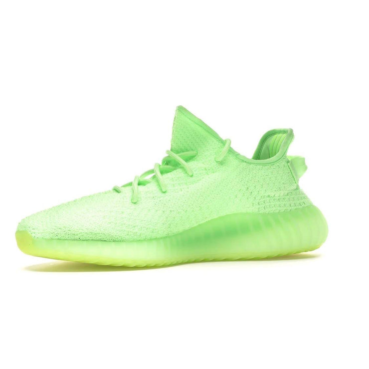 Adidas X Yeezy Boost 350 V2 Sneakers Glow in the Dark Designer Consignment From Runway With Love