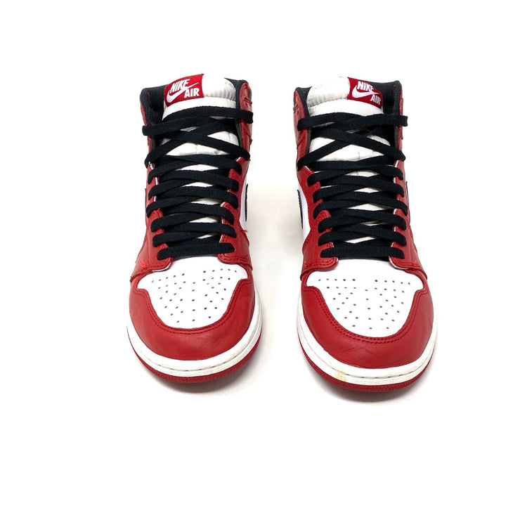 Air Jordan 1 Retro High OG Chicago Sneakers Black Red White Consignment Shop From Runway With Love