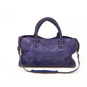 Balenciaga Motocross Classic City Bag designer consignment from runway with love