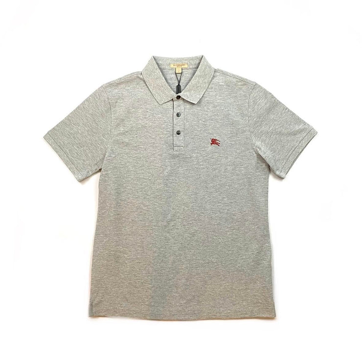 Burberry Brit Polo Shirt Gray Mens Consignment Shop From Runway With Love