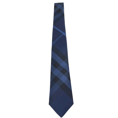 Burberry Nova Check Silk Tie Consignment Shop From Runway With Love