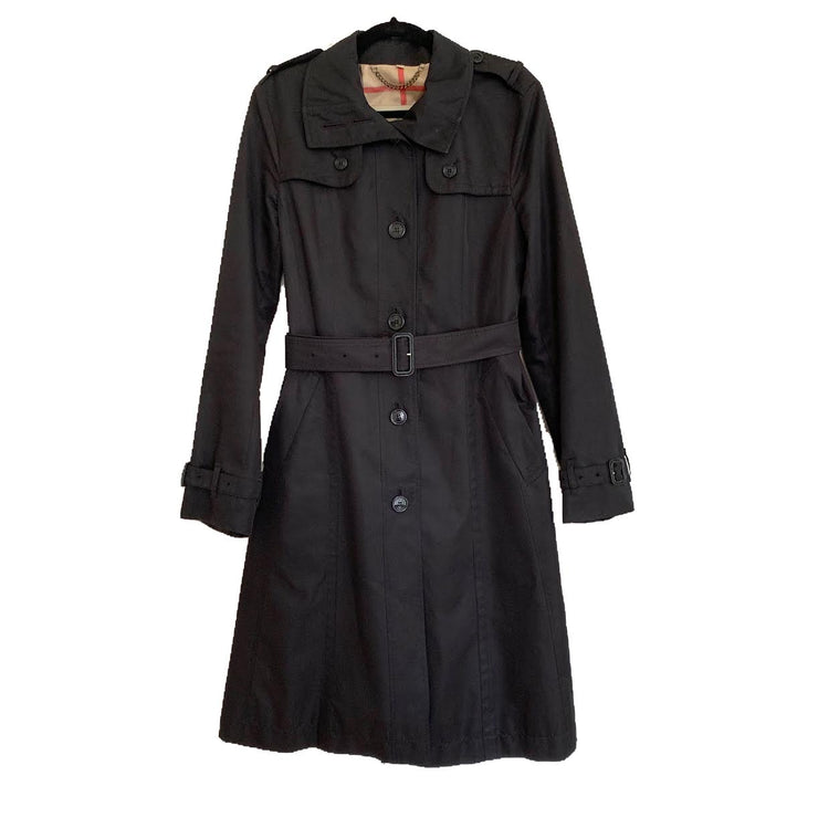 Burberry London Belted Trench Coat Designer Consignment From Runway With Love