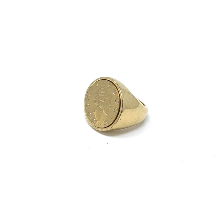 Chanel Coco Signet Ring gold