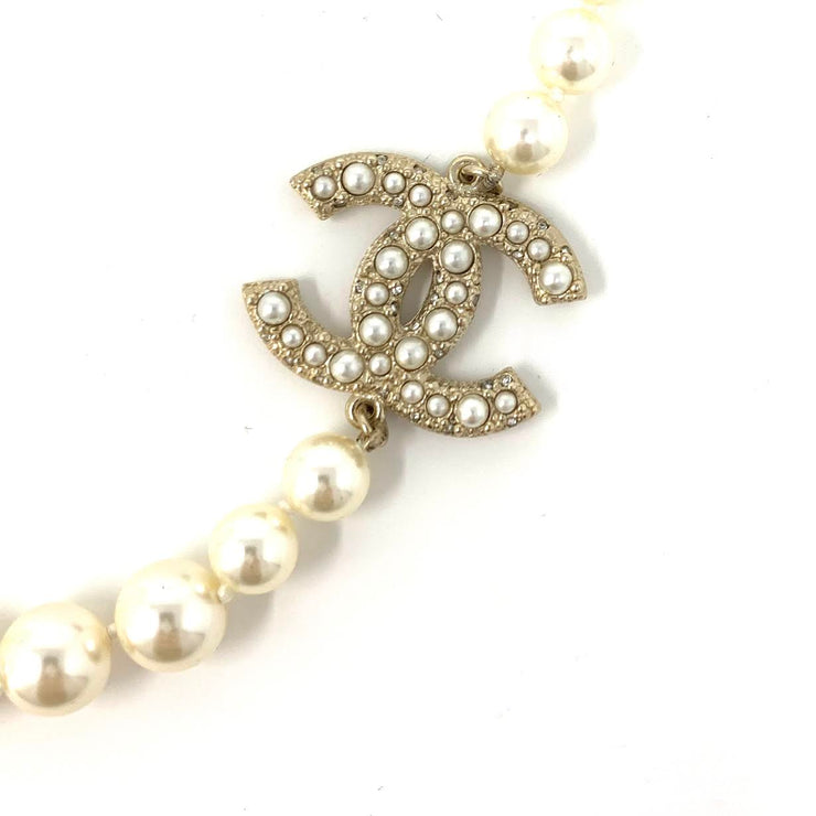 Chanel Faux Pearl Necklace Luxury Consignment Shop From Runway With Love