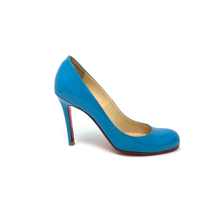 Christian Louboutin Heels in Teal - Size 37.5