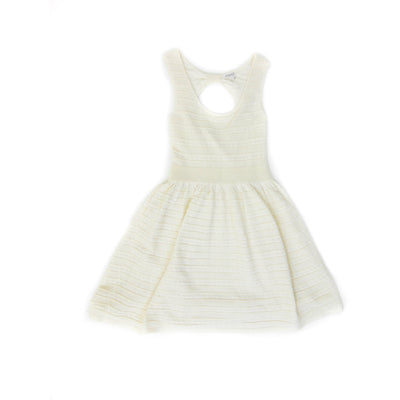Claudie Pierlot white dress with bow