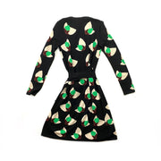 Diane von Furstenberg Wool Wrap Dress - Size S