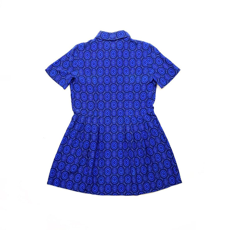 Equipment Silk Mini Dress Blue Consignment Shop From Runway With Love