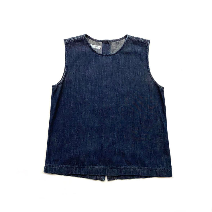 Equipment Sleeveless Denim Top Consignment Shop From Runway With Love