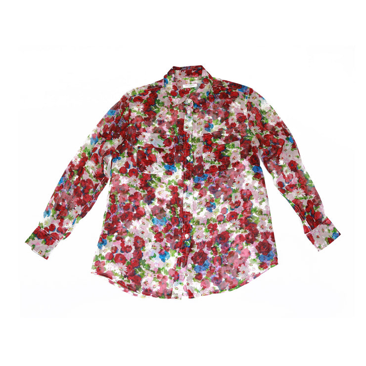 Equipment Floral Blouse - Size S