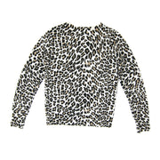 Equipment Cashmere Sweater with leopard print