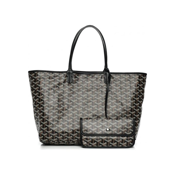 Goyard St. Louis PM Tote in Black w/ Tags