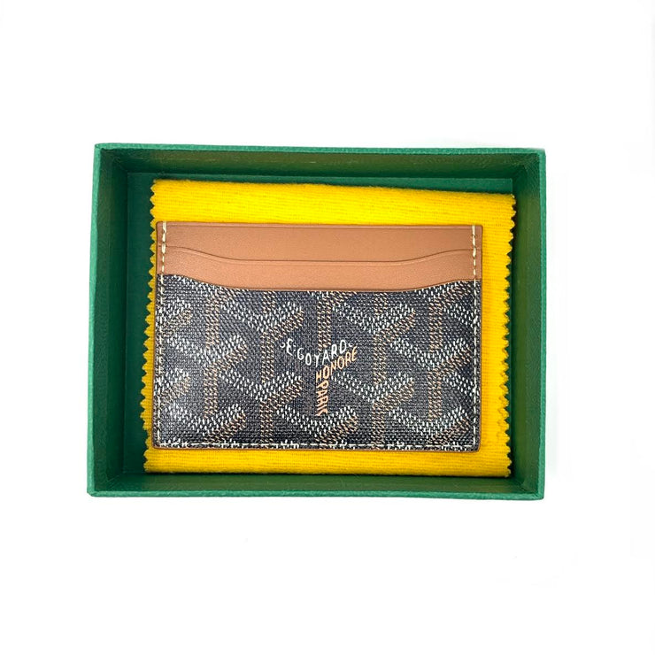 Goyard Saint Sulpice Card Holder designer consignment From Runway With Love