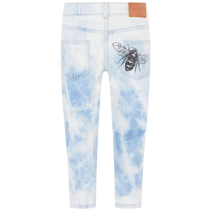 Gucci Boys Acid Wash Blue Jeans Consignment Shop Boys Girls Kids From Runway With Love