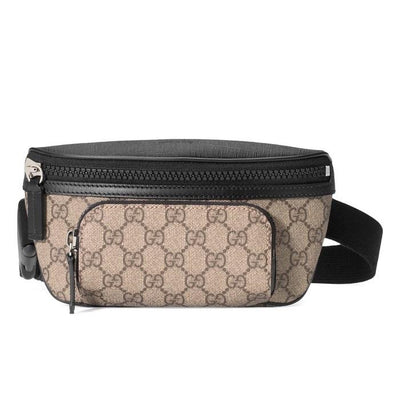 Gucci GG Supreme  Belt Bag Waist Bag Fanny Pack Bum Bag Designer Consignment From Runway With Love