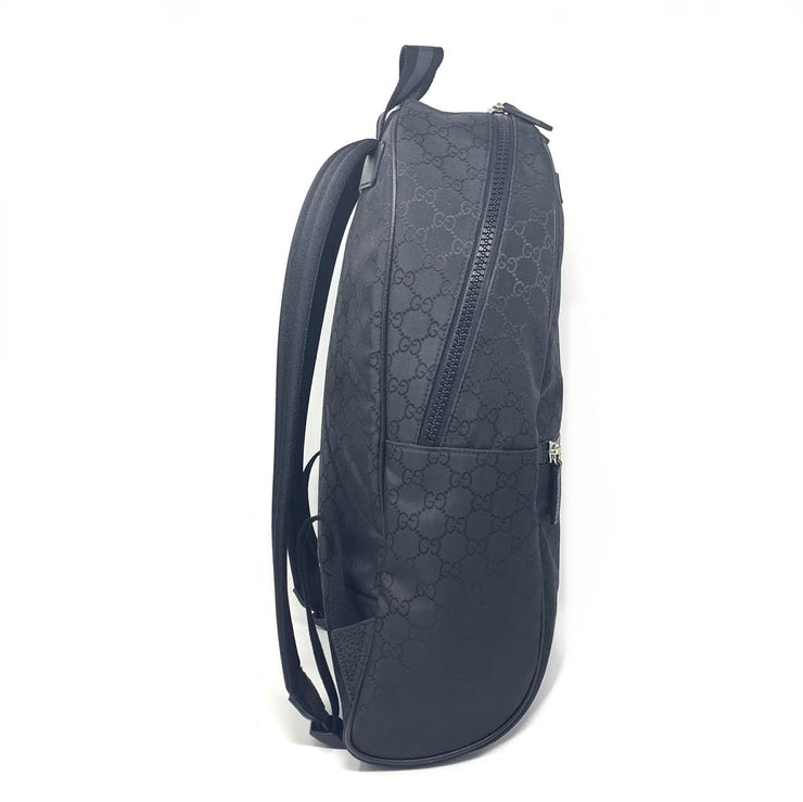 Gucci GG Supreme Black Backpack Consignment Shop From Runway With Love