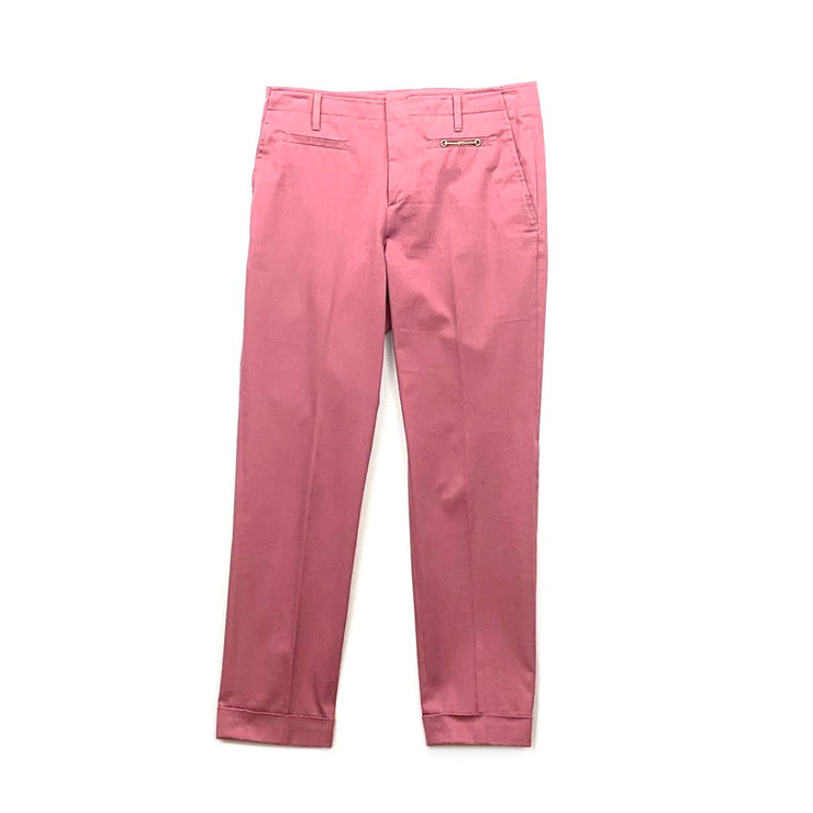 Gucci Horsebit Mid-Rise Pants Purple Chino Consignment Shop From Runway With Love