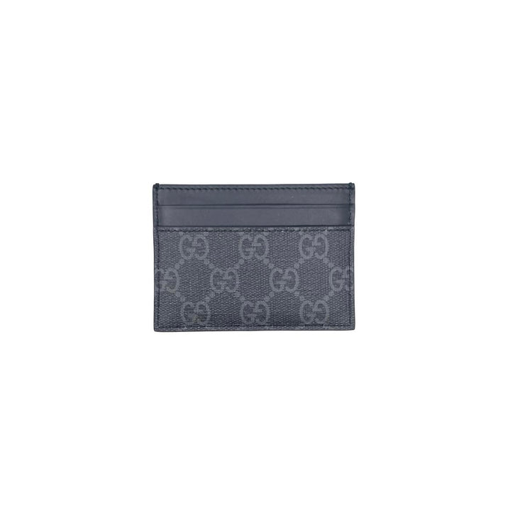 Gucci Kingsnake Supreme Card Holder Black Consignment Shop From Runway With Love
