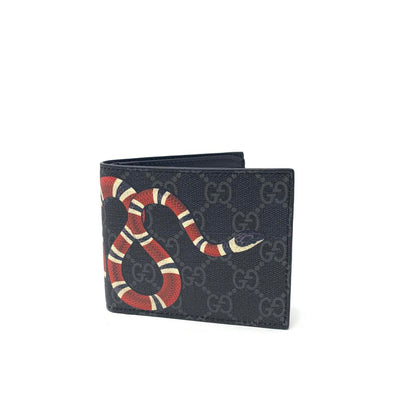 Gucci Kingsnake Supreme Wallet Consignment Shop From Runway With Love