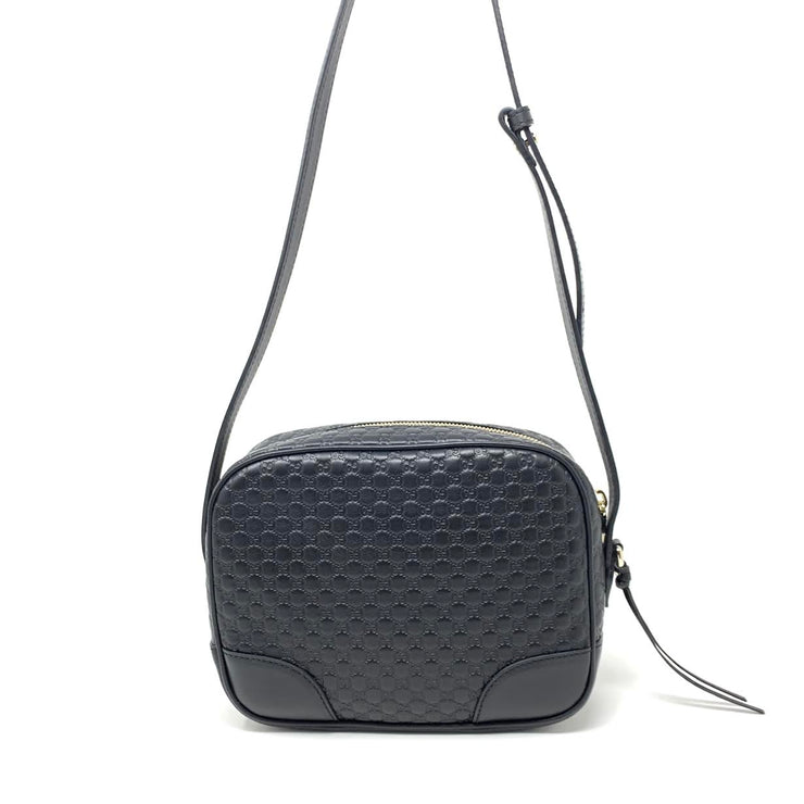 Gucci Microguccissima Bree Crossbody Bag Consignment Shop From Runway With Love