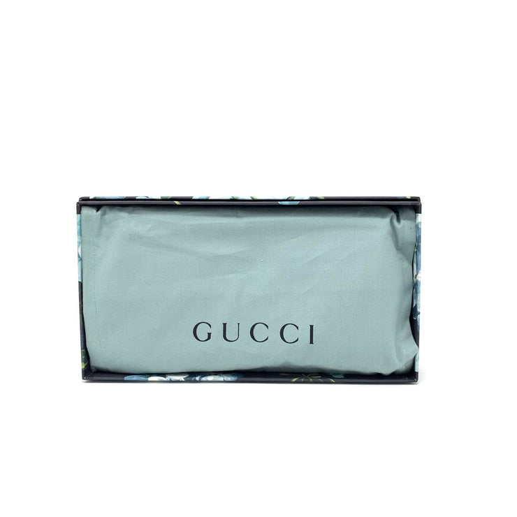 Gucci GG Blooms Zip-Around Wallet w/ Tags