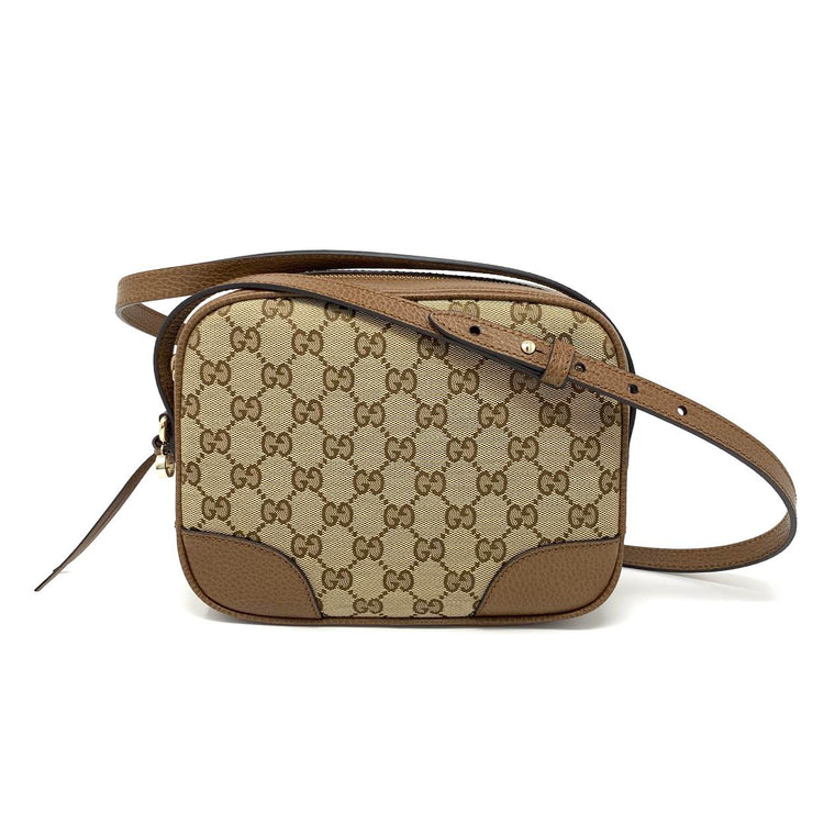 comfortable feel official shop best sale Gucci GG Canvas Bree Crossbody Bag w/ Tags