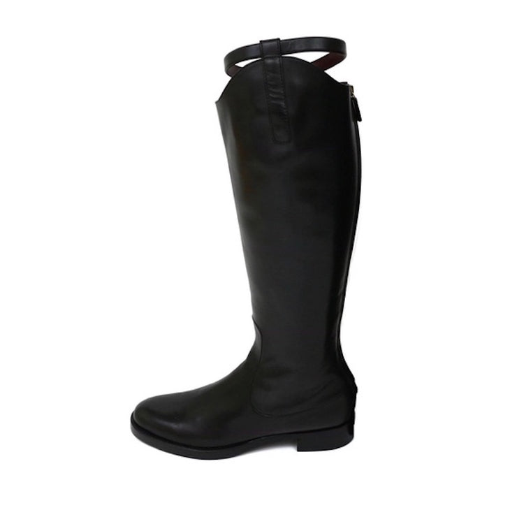 Gucci Riding Boots in Black - Size 39.5