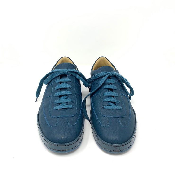 Hermes Olympic Leather Sneakers Designer Consignment From Runway With Love