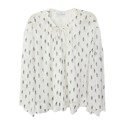 Iro Naomie Blouse in White - Size 40
