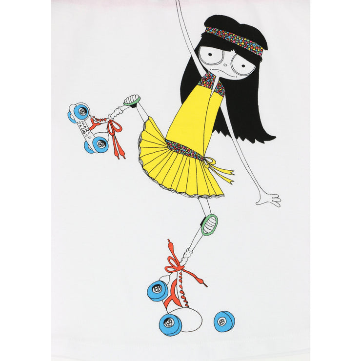 Little Marc Jacobs Roller Skating Girl Tank Top