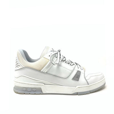 Louis Vuitton LV Trainer Sneaker White Mens Virgil Abloh Consignment Shop