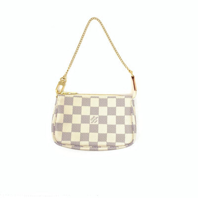 Louis Vuitton Damier Azur Mini Pochette w/ Tags