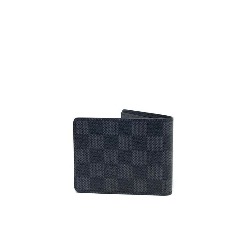 Louis Vuitton Damier Graphite Slender Wallet Consignment Shop From Runway With Love